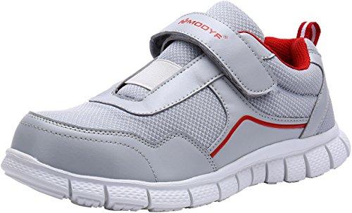 Scarpe Antinfortunistica Donna Leggere, LM30, Sneaker da Lavoro Traspirante Punta in Acciaio Scarpe (38 EU, Grigio)