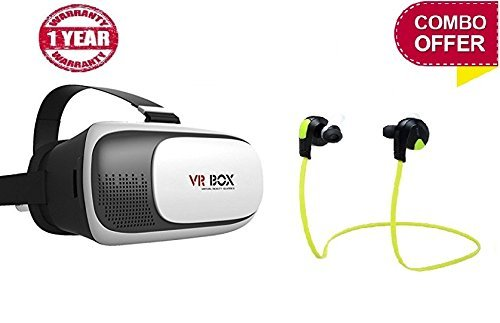 VR Box 2.0 Virtual Reality Glasses And Controller For 3D VR Glasses For Lenovo K8 Note