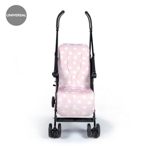 Pasito a Pasito Elodie - Colchoneta silla universal, color rosa