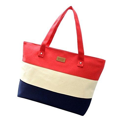 xy-fancy-damen-mehrfarbig-streifen-shopper-umhangetasche-handtasche-rot
