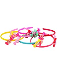 Fancy And Attractive Best Quality Hair Accessories / Hair Bands For Kids & Girls – 6 Pcs