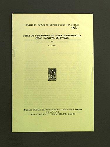 Sobre las comunidades del orden Euphorbietalia peplis (Cakiletea maritimae).