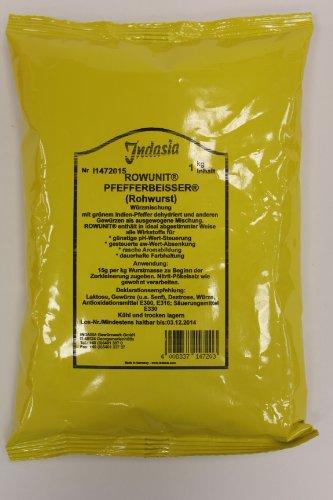 Indasia Rowunit Pfefferbeißer (Rohwurst) 1kg Gewürzpräparat