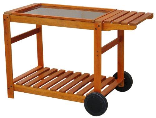 PRIMAGAZ - Chariot bois pour Plancha 70CM