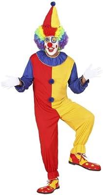 Widman - Disfraz de payaso de circo para hombre, talla M (2702)