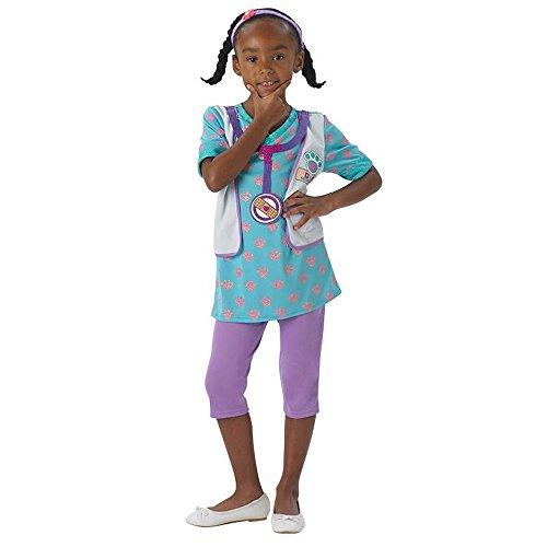 Disney Kinder Kostüm Doc McStuffins Karneval Fasching Gr.3 bis 4 J. (Doc Mcstuffin Halloween Kostüme)