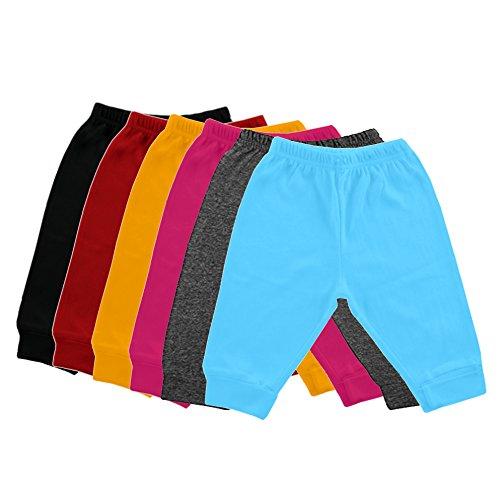 Mek-Orange Infant kids Cotton Lowers Pajama - Pack of 6 (2-3 years)