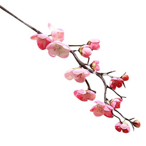 squarex Clearance 1 Künstliche Seide Fake Plum Blossom Blumen Hochzeit Bouquet Party Dekoration China Bouquet