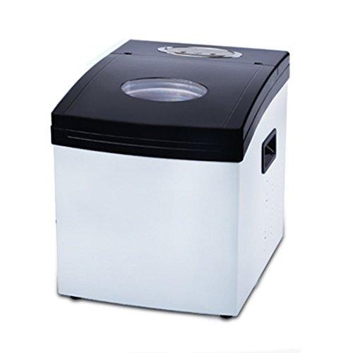 Nan Ice Maker Machine - Gegenobereismaschine - Neues kompaktes Modell - Keine Installation erforderlich - 25kg Eis in 24 Stunden von Eismaschine