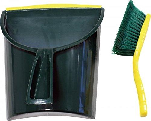 Unimet Kehrgarnitur, 2 Stück, grün, 1551-1