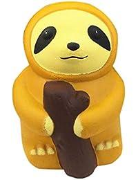 Covermason Hirsch Squishy Toys Slow Rising Spielzeug Jumbo Cute Stress Kombination Toys Langsames Aufstehen Creme duftend Dekompression Spielzeuge