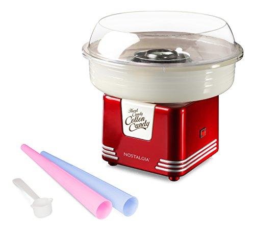Nostalgia-Electrics-PCM405RETRORED-Retro-Series-Hard-and-Sugar-Free-Cotton-Candy-Maker