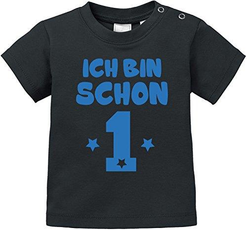 EZYshirt® Ich bin schon eins   BIO Baby T-Shirt