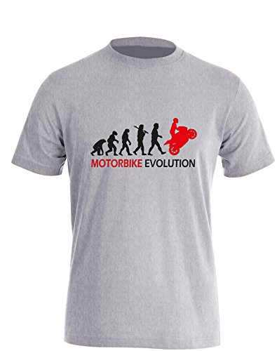 Motorbike Evolution - Herren T-Shirt in Größe XL -