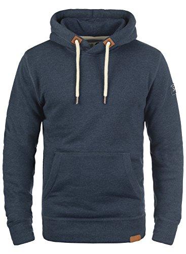 !Solid TripHood Herren Kapuzenpullover Hoodie Pullover Mit Kapuze Und Fleece-Innenseite, Größe:L, Farbe:Insignia Blue Melange (8991) (Diesel-baumwoll-jersey)