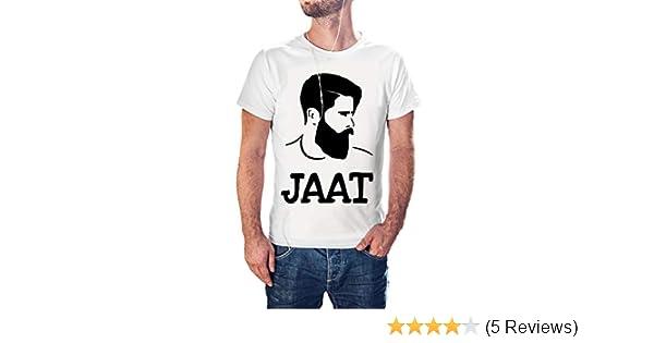 e92efc9e Jaat haryanvi Men's White Tshirt: Amazon.in: Clothing & Accessories