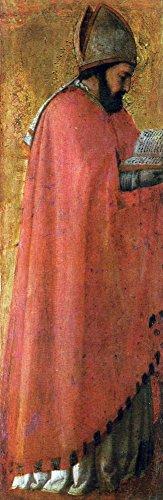 Das Museum Outlet-St Augustine by Masaccio, gespannte Leinwand Galerie verpackt. 29,7x 41,9cm