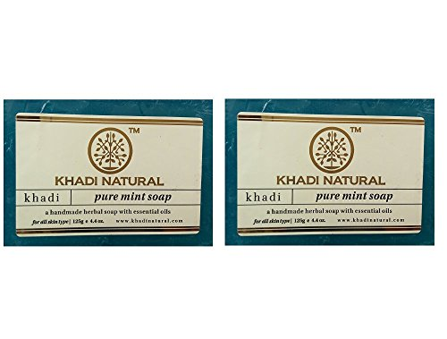 Khadi Pure Mint Soap Pack Of 2