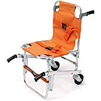 Silla para escaleras EMS - Ambulance Firefighter Evacuation Medical Lift Silla para sillas con hebillas de liberación rápida