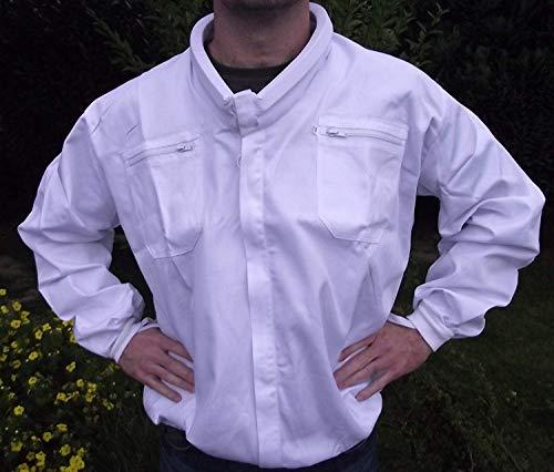 Dichter Tunika Top (Top Imkerbekleidung: Imkerjacke mit Wulstkragen in der Größe XL (58 /60))