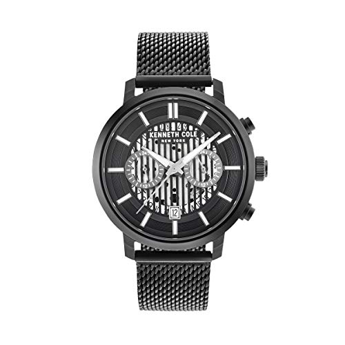 Kenneth Cole New York Reloj de Hombre Reloj de Pulsera Acero Inoxidable kc50572003