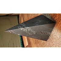 QUARTZ Schungit Pyramide Spitz mit Quarzbahnen,unpoliert,5x5cm,sehr selten, aus Karelien,lmit Zertifikat der Mine! preisvergleich bei billige-tabletten.eu