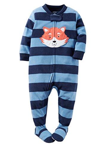carters-schlafanzug-fleece-einteiler-junge-boy-warm-weich-winter-reissverschluss-104-110-blau