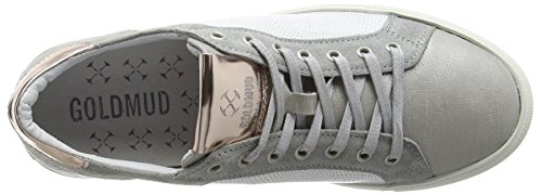 Goldmud  Lima Lady, Sneakers Basses femme Gris - Grau (combi ciment)