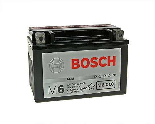 Batterie BOSCH YTX9-BS 12 Volt [ inkl.7.50 EUR Batteriepfand ]