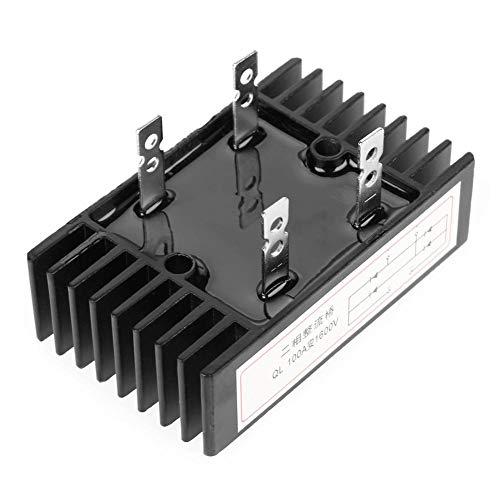 Brückengleichrichter, 1pc 100A Amp 1600V Spannung 2-Phasen-Dioden-Brückengleichrichter High Power Black - Brückengleichrichter Spannung