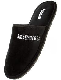 BIKKEMBERGS - Zuecos para hombre Negro negro