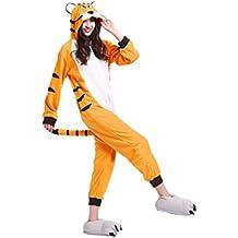 YUWELL Kigurumi Pijamas Unisex Cosplay Animales Traje Disfraz Pyjamas Onesie Halloween