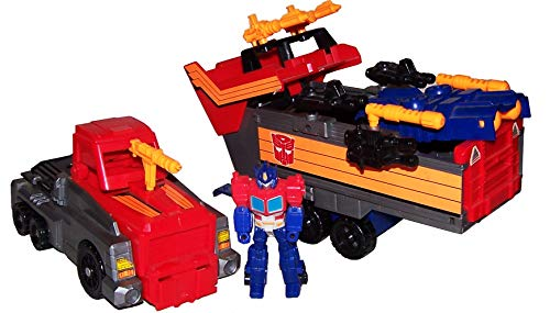 onfigur & Vehicle Set: Action Masters: Armored Convoy with Optimus Prime ()