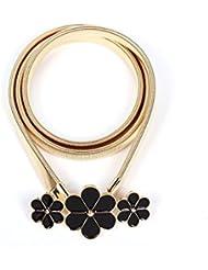 YYH La cadena de la correa de cintura de la yemas accesorios flor moda . gold