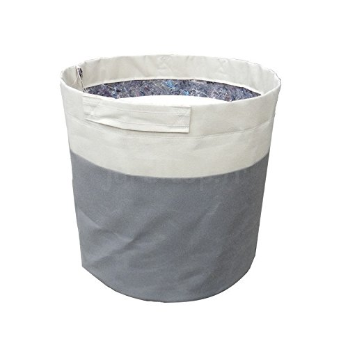 Strata Lazio carré en plastique planteur Plante Pot Treillis Gris Ardoise 2 Tailles
