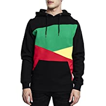 Urban Classics Bekleidung Zig Zag Hoody - Sudadera con capucha para hombre