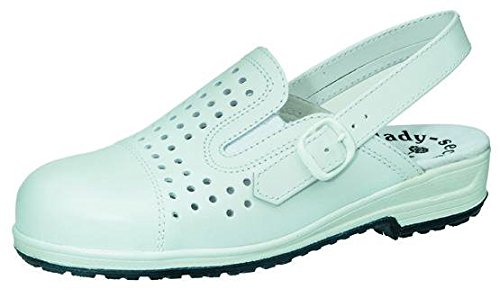 Cucina aperta STEITZ SECURA trombetta sicurezza scarpe donna Ms. bianco, schuhgrößen (neu):35
