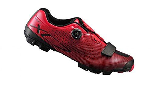 SHIMANO Shxc7oc430sr00, Scarpe da Ciclismo su Strada Uomo, Rosso (Red), 43 EU