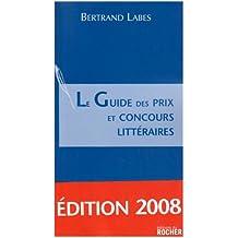 Le Guide des prix et concours littéraires