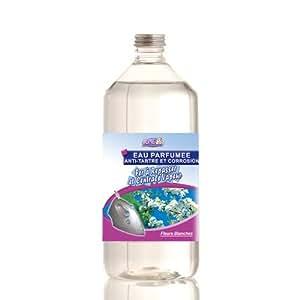 Home Equipement 95205 Repassage Parfum Eau Parfumée Anti Tartre pour Fer à Repasser 1 L