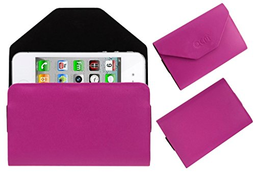 Acm Premium Pouch Case For Apple Iphone 4s Flip Flap Cover Holder Pink  available at amazon for Rs.179
