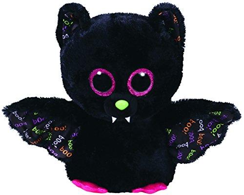 Ty 37153Dart–pipistrello, 24cm, con occhi brillanti, Glubschi S, Beanie Boo S, Halloween limitato