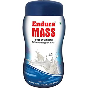 Endura Mass Weight Gainer – 1 kg (Vanilla)