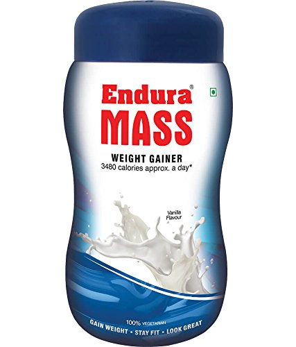 Endura Mass Weight Gainer - 500g (Vanilla)