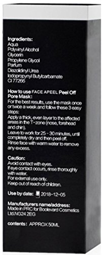 Face-Apeel-Blackhead-Remover-Deep-Cleansing-Peel-Off-acn-Noir-Masque-Bande-de-Pores