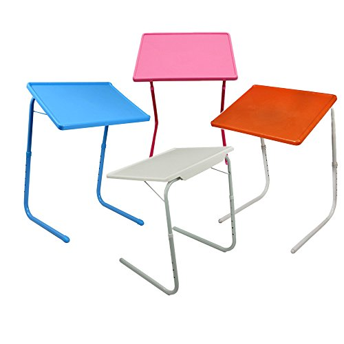 Ebee Adjustable Blue Table Mate for Home Office Reading Study...