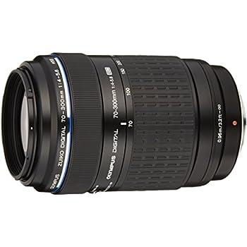 Olympus 70 - 300 mm f/4.0 - 5.6 ED Zuiko Digital - Objetivo para cuatro tercios (distancia focal 70-300mm, apertura f/4) color negro