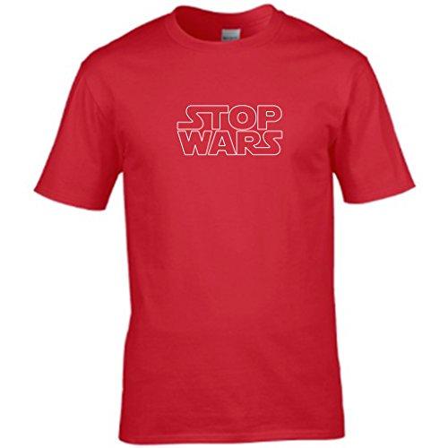 GABBA GABBA HEY punk Symbole Herren t shirt Rot - Rot