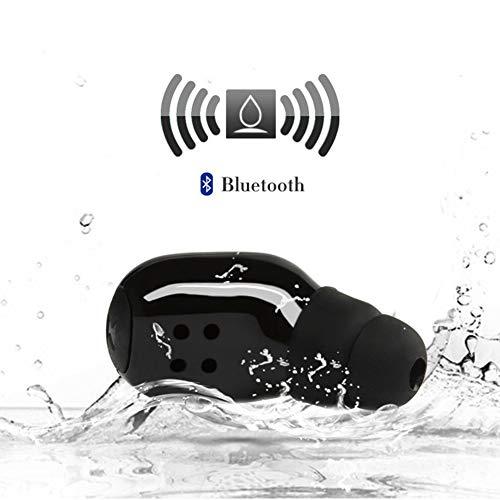 FUVOYA Bluetooth-Ohrhörer, kabelloses Headset, Mini-Auto-Kopfhörer, Freisprecheinrichtung, unsichtbare In-Ear-Sport-Kopfhörer