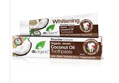 Dr. Organic Dentifricio con Olio di Cocco - 100 ml